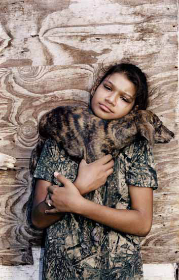 LAND-Esme and Dog-exhibit-001